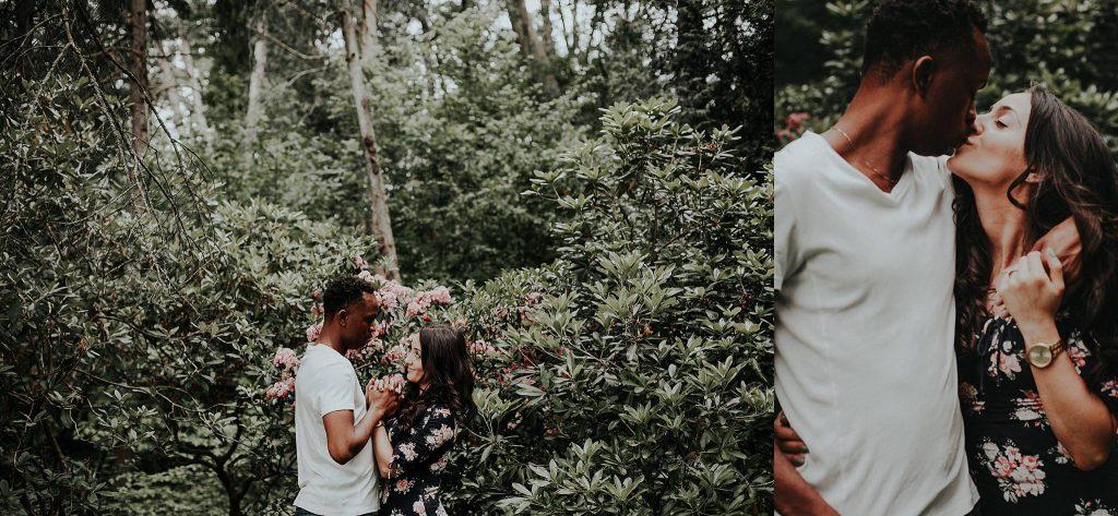 Edwards Garden Engagement